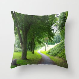 The Path To Wellbeing Throw Pillow