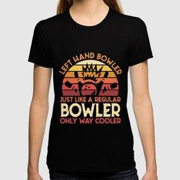 Left Hand Bowler T-shirt