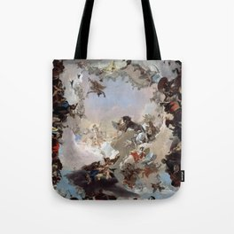 Giovanni Battista Tiepolo - Allegory of the Planets and Continents 1752 Tote Bag