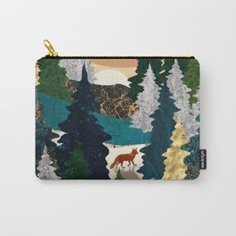 Amber Fox Carry-All Pouch
