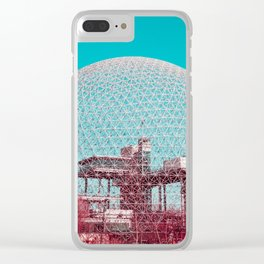 Surreal Montreal #6 Clear iPhone Case