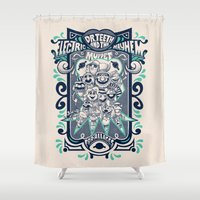 muppet Shower Curtains featuring Reunion Tour by jublin