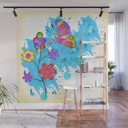 Season of Colors Wall Mural