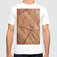 REDWOOD Mens Fitted Tee White MEDIUM