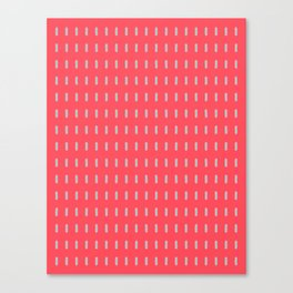 Pink and Grey Modernist Canvas Print