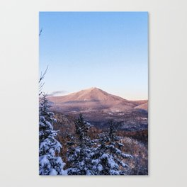Alpenglow on Whiteface, Adirondack Mountains, 46 High Peaks Canvas Print