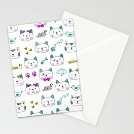 My best friend - kittens Stationery Cards