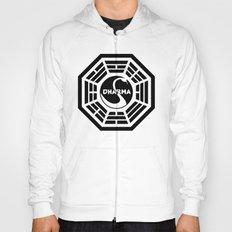 Dharma Initiative - Swan Station Logo Shirt Hoody