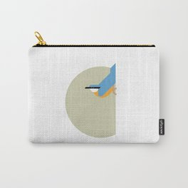 Nuthatch vector illustration Carry-All Pouch