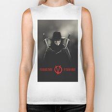 V for Vendetta (e2) Biker Tank