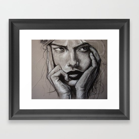 The Glutton (VIDEO in description!!) Framed Art Print