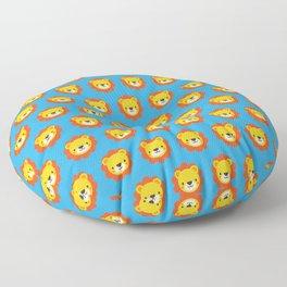 Lenny the Lion Pattern Floor Pillow