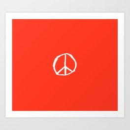 Symbol of peace 4 Art Print