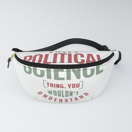 Political Science Fanny Pack