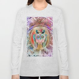 Madhatter Owl Long Sleeve T-shirt