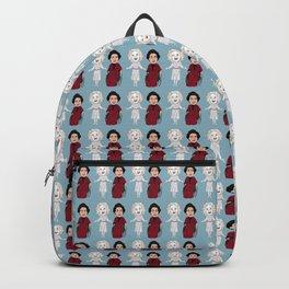 Whatever Happened to Baby Jane, Bette Davis, Joan Crawford Inspired Illustration Backpack
