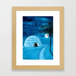 Dream Places to Visit Framed Art Print