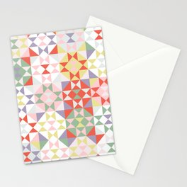 Field Quilt Stationery Cards