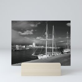 Tall ships Mini Art Print