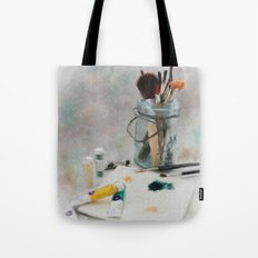 Time to Paint Tote Bag