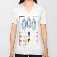 ace V-neck T-shirts featuring Ace by Anivad