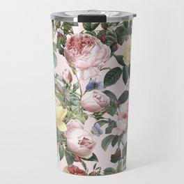 Vintage & Shabby Chic - Rose Flower Garden Travel Mug