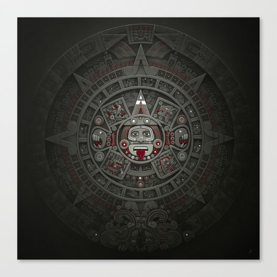 Stone of the Sun I. Canvas Print