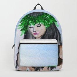 hula girl Backpack