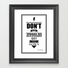 HP Quotes - Prisoner of Azkaban Framed Art Print