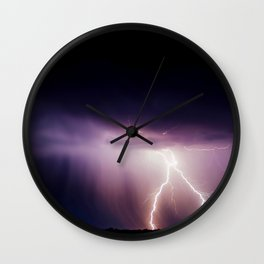 ace pride Wall Clock