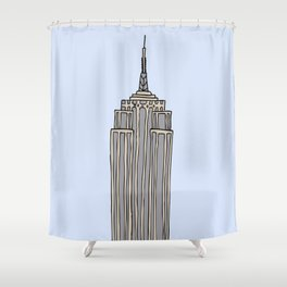 Empire State Bldg. NY Shower Curtain