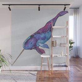 Starwhal Watercolor Painting by Imaginarium Creative Studios Wall Mural