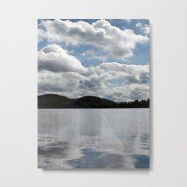 Lac Ouimet Metal Print