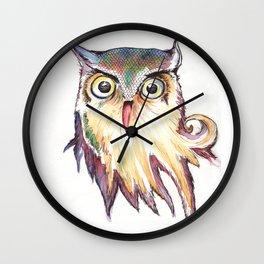 Hibou Wall Clock