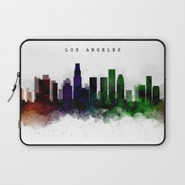 Los Angeles Watercolor Skyline Laptop Sleeve