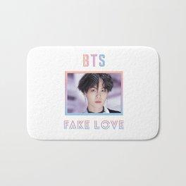 BTS Fake Love Design - Suga Bath Mat
