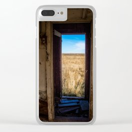 Chicken House, Backroads Farmstead, Valley County, MT Clear iPhone Case