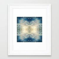 fractal Framed Art Prints featuring Fractal by GBret
