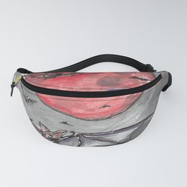 Bat Moon Fanny Pack