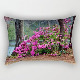 Spring By The Lake Rectangular Pillow