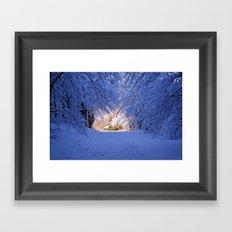 Snowland Framed Art Print