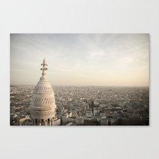 Sacre Coeur - Paris  Canvas Print