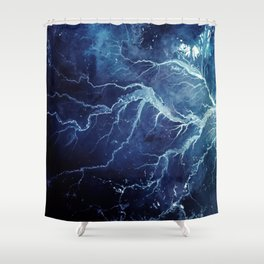 Hesperus I Shower Curtain