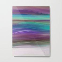 Lavender Sunset Metal Print
