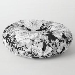 ROSES ON DARK BACKGROUND Floor Pillow