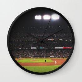 AT&T Park At Night Wall Clock