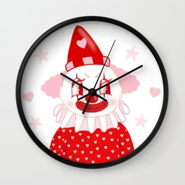 Poopywise the Clown Wall Clock
