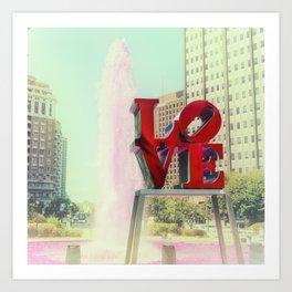 Philly Love Art Print