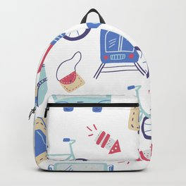 Go travel pattern 1 Backpack