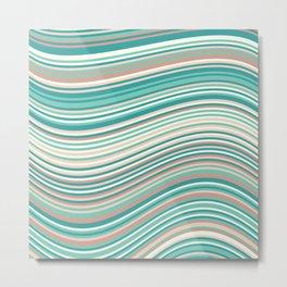 Calm Summer Sea 2 Metal Print